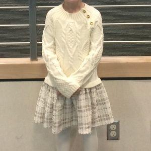 MAX STUDIO Size 5/6 Little Girls Sweater Dress